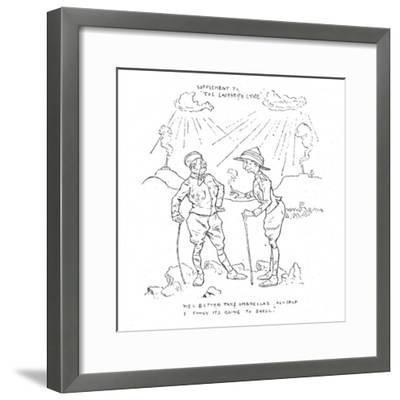 'Humours of the Siege', 1902-Unknown-Framed Giclee Print