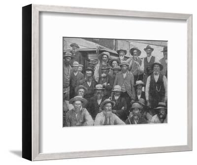 'Some of Cronje's Officers Captured at Paardeberg', c1900, (1902)-Unknown-Framed Photographic Print