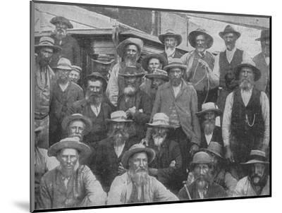 'Some of Cronje's Officers Captured at Paardeberg', c1900, (1902)-Unknown-Mounted Photographic Print