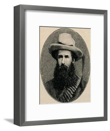 'General Pretorius', 1902-Unknown-Framed Giclee Print