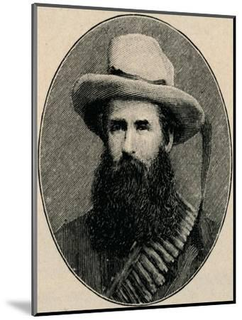 'General Pretorius', 1902-Unknown-Mounted Giclee Print