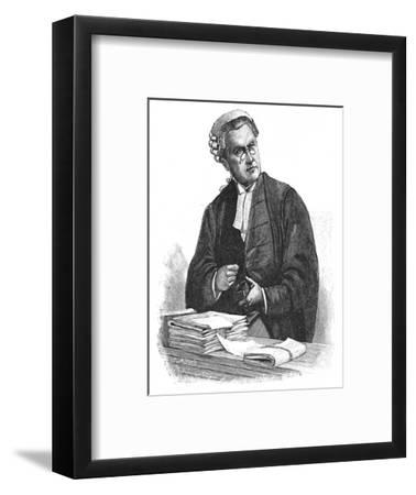 'The Late Lord Russell of Killowen', 1900-Unknown-Framed Giclee Print