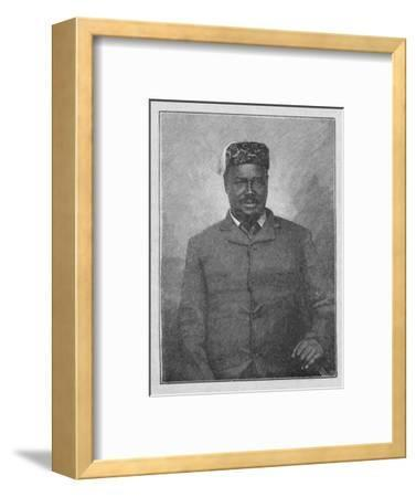 'King Cetewayo', 1902-Unknown-Framed Giclee Print