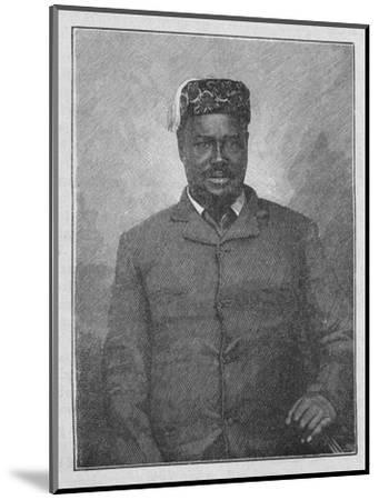 'King Cetewayo', 1902-Unknown-Mounted Giclee Print