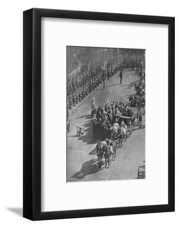 'The Queen's visit to Ireland', 1900-Unknown-Framed Photographic Print