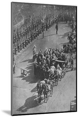 'The Queen's visit to Ireland', 1900-Unknown-Mounted Photographic Print