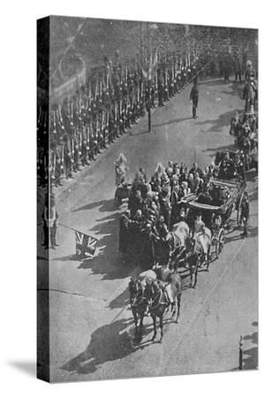 'The Queen's visit to Ireland', 1900-Unknown-Stretched Canvas Print