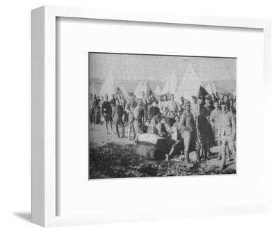 'The Dublin Fusiliers Just Before Embarking in the Armoured Train', 1902-Unknown-Framed Photographic Print