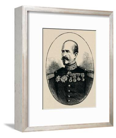 'General Trochu', 1902-Unknown-Framed Giclee Print