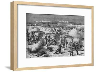 'Russian Attack Upon A Turkish Redoubt', 1902-Unknown-Framed Giclee Print