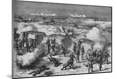 'Russian Attack Upon A Turkish Redoubt', 1902-Unknown-Mounted Giclee Print