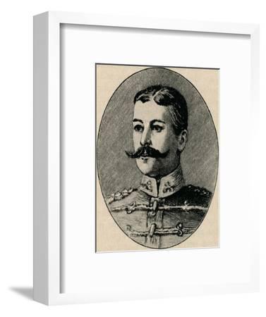 'Colonel Schiel', 1902-Unknown-Framed Giclee Print