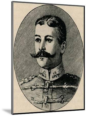 'Colonel Schiel', 1902-Unknown-Mounted Giclee Print