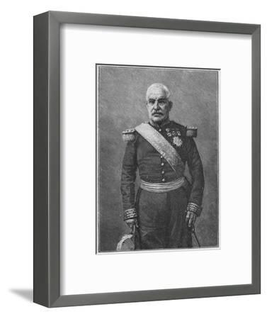 'Marshal Pelissier', 1902-Unknown-Framed Giclee Print