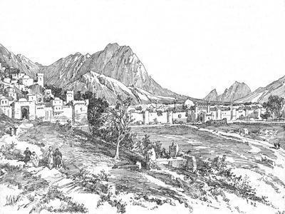'Candahar', 1902-Unknown-Framed Giclee Print