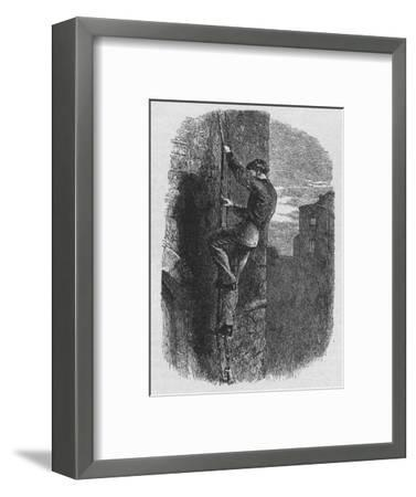 'Escape of Morgan', 1902-Unknown-Framed Giclee Print