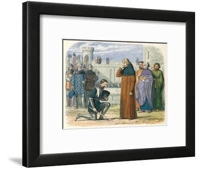 'Meeting of Richard and Henry', 1399 (1864)-James William Edmund Doyle-Framed Giclee Print