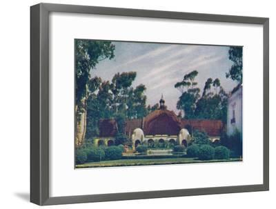 'The Botanical Building', c1935-Unknown-Framed Giclee Print
