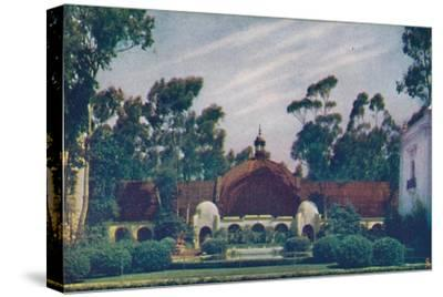 'The Botanical Building', c1935-Unknown-Stretched Canvas Print
