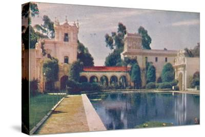 'The Lily Pond', c1935-Unknown-Stretched Canvas Print