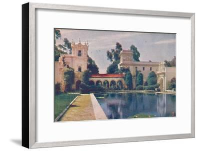 'The Lily Pond', c1935-Unknown-Framed Giclee Print