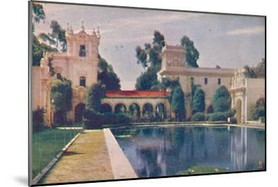 'The Lily Pond', c1935-Unknown-Mounted Giclee Print