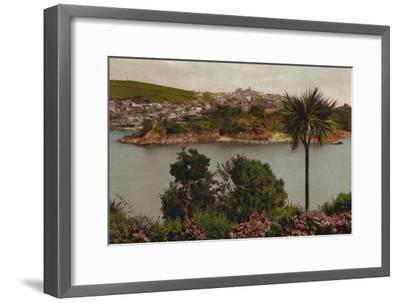 'Polruan from Fowey', c1930-Unknown-Framed Giclee Print