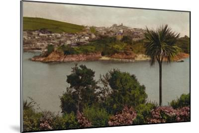 'Polruan from Fowey', c1930-Unknown-Mounted Giclee Print