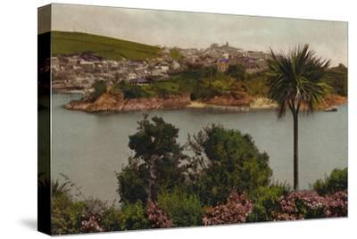'Polruan from Fowey', c1930-Unknown-Stretched Canvas Print