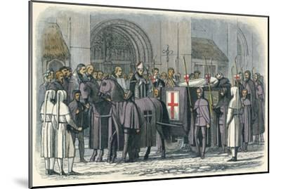 'The body of Richard brought to St. Paul's', 1400 (1864)-James William Edmund Doyle-Mounted Giclee Print