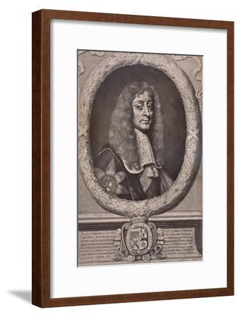 James Butler, 1st Duke of Ormonde, English statesman and royalist soldier, 17th century (1894)-David Loggan-Framed Giclee Print