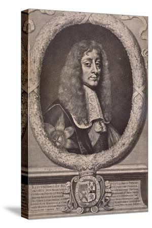 James Butler, 1st Duke of Ormonde, English statesman and royalist soldier, 17th century (1894)-David Loggan-Stretched Canvas Print
