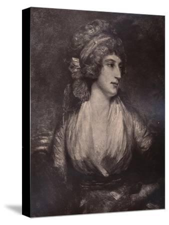 Anna Seward, English writer and poet, c late 18th or early 19th century (1894)-Unknown-Stretched Canvas Print