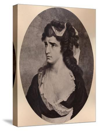 Sarah Siddons, Welsh actress, c late 18th or 19th century (1894)-Unknown-Stretched Canvas Print