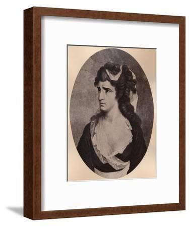 Sarah Siddons, Welsh actress, c late 18th or 19th century (1894)-Unknown-Framed Giclee Print