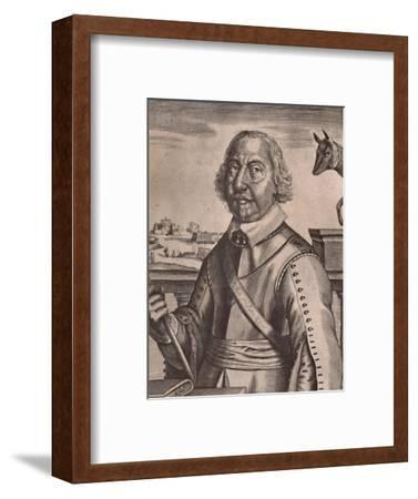 Oliver Cromwell, English Parliamentarian soldier and politician, c17th century (1894)-Unknown-Framed Giclee Print