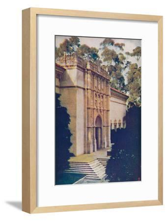 'Right Wing of Fine Arts Gallery', c1935-Unknown-Framed Giclee Print