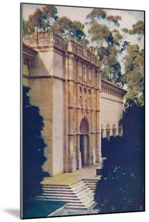 'Right Wing of Fine Arts Gallery', c1935-Unknown-Mounted Giclee Print