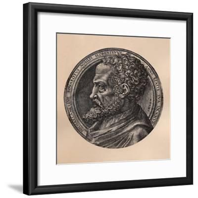 Michelangelo Buonarroti, Italian artist and architect, c16th century (1894)-Unknown-Framed Giclee Print