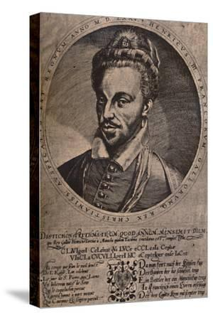 Henry III, King of France, c16th century (1894)-Unknown-Stretched Canvas Print