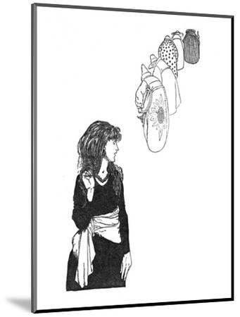 'They Carried the Mirror From Place To Place', c1930-W Heath Robinson-Mounted Giclee Print