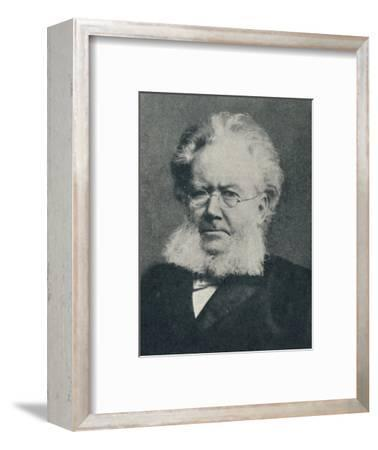 'Henrik Ibsen - In the Heyday of His Success', c1897, (c1925)-Unknown-Framed Photographic Print