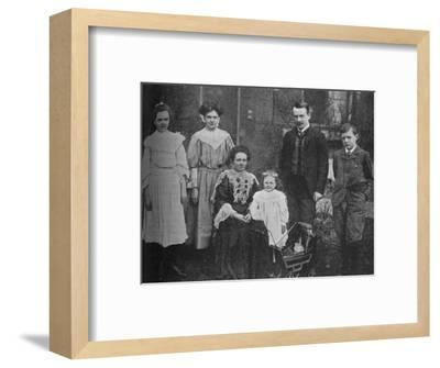 'David Lloyd George - The Great Statesman Surrounded By His Family', 1905, (c1925)-Unknown-Framed Photographic Print