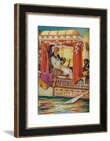 'Cleopatra - The Serpent of Old Nile in the Royal Galley', c1925-Arthur Percy Dixon-Framed Giclee Print