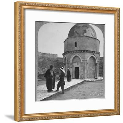 'Rachel's Tomb near Bethlehem', c1900-Unknown-Framed Photographic Print
