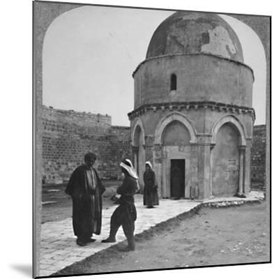 'Rachel's Tomb near Bethlehem', c1900-Unknown-Mounted Photographic Print
