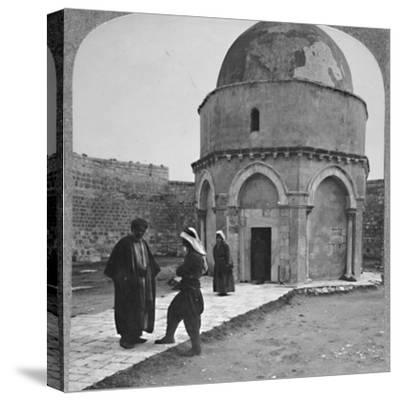 'Rachel's Tomb near Bethlehem', c1900-Unknown-Stretched Canvas Print