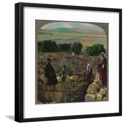 'In the Shepherd's Field, Bethlehem', c1900-Unknown-Framed Photographic Print