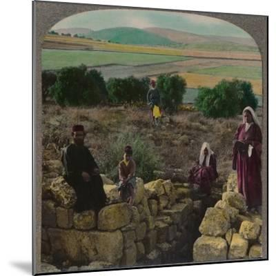 'In the Shepherd's Field, Bethlehem', c1900-Unknown-Mounted Photographic Print