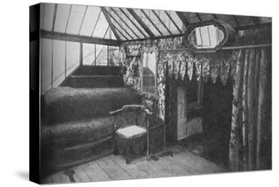 'Victor Hugo's study at Hauteville House - The Room in Which Les Miserables Was Written', c1925-Unknown-Stretched Canvas Print